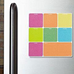 Lulalu 10x10 Weekly Calendar Pad Blocks