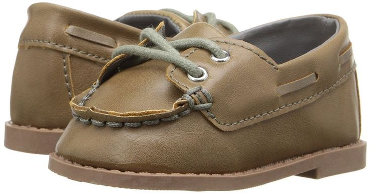 RUGGED BEAR BABY BOY RB24601 OXFORD INFANT TAUPE CASUAL SHOES 2 M US  #RuggedBear #Oxfords