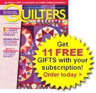 Quilting Tips Addendum | Inside Quilters Newsletter