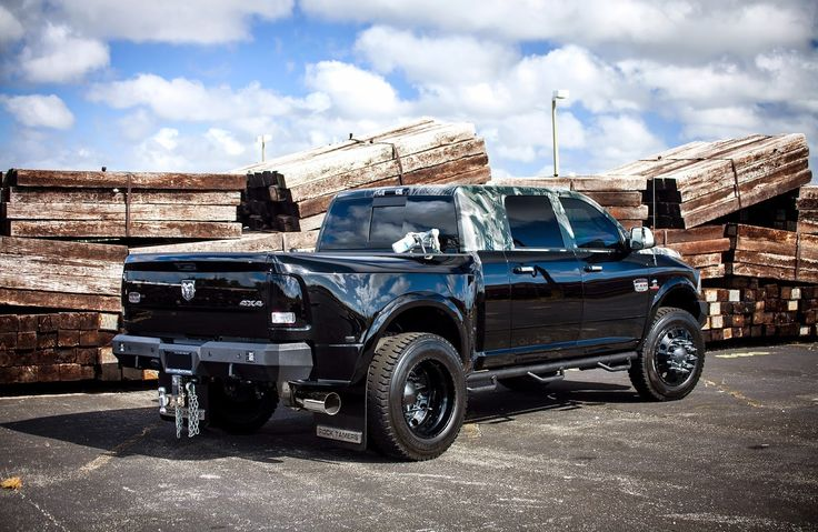 Dodge Ram Longhorn 3500 Dually By American Force Wheels