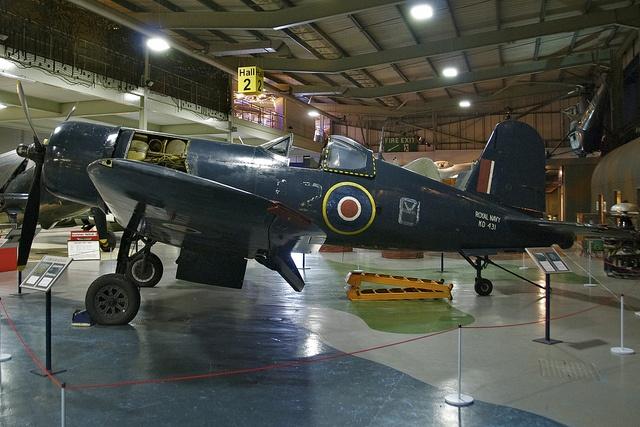 Chance Vought Corsair IV, Left Side, Fleet Air Arm Museum