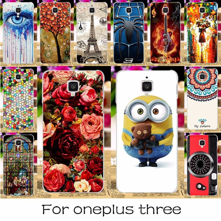 Silicone Plastic Mobile Phone Cases For OnePlus 3T Cases OnePlus 3 Three A3000 A0003 A3010 OnePlus 3 OnePlus3 5.5 inch Covers
