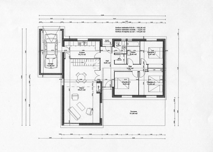 1000 ideas about plan maison gratuit on pinterest for Plan de maison gratuit en ligne