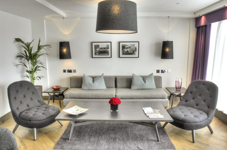 THE TOWNHOUSE SUITE AT BLYTHSWOOD SQUARE  Our stylish top floor Townhouse Suite, occupying one side of the luxury hotel on West Regent Street, comes complete with a separate lounge (which conveniently doubles as a second bedroom) and dining room, as well as a fabulous furnished outside terrace with views over the city. And because we can't always guarantee the Glasgow weather, we've designed a beautifully capacious function and lounge area allowing guests to entertain indoors, in style.