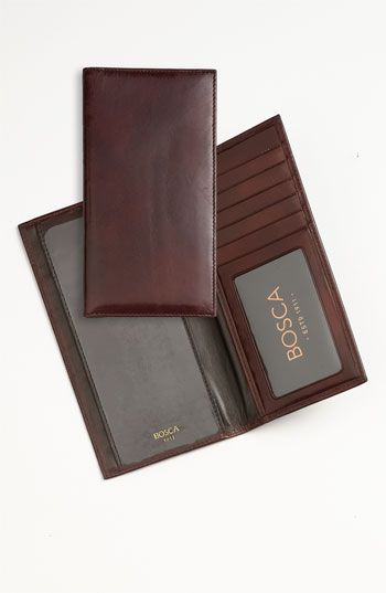 Bosca+'Old+Leather'+Checkbook+Wallet+available+at+#Nordstrom