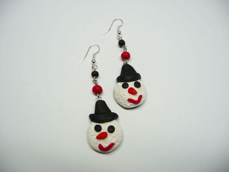 Snowmen Earrings | Flair from Chios