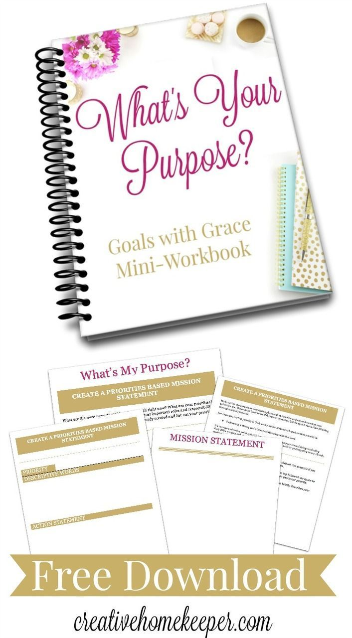 Are you struggling to set goals that you actually follow through and accomplish? Understanding what matters most will help you to become a goal setting rock star. You will not want to miss this free workbook to help you finally start becoming an effective goal setter and living with more intention and purpose every single day! http://creativehomekeeper.com/goal-setting/