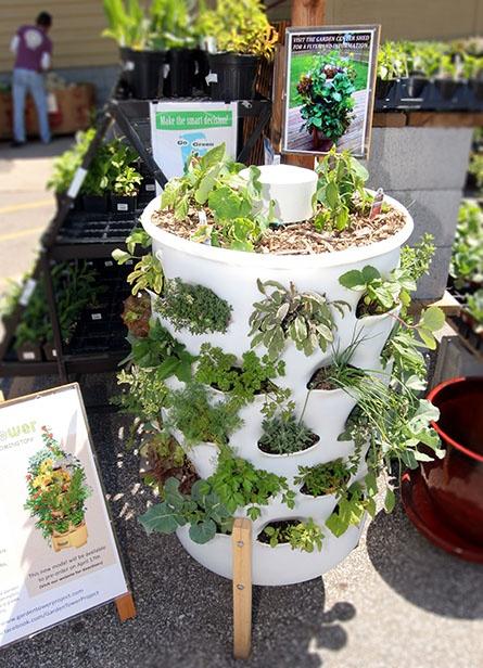 Herb Garden Tower! Cool IdeasGreenhouse ...