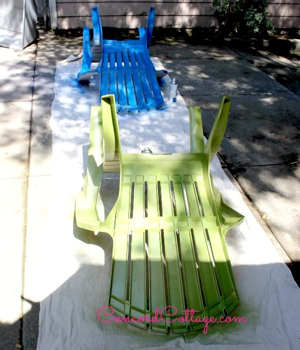 1000 Ideas About Painting Plastic Chairs On Pinterest Painting Plastic Furniture Spray
