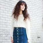 #trends2018 #womens #January2018 #winter #2018fashion #2018 #fashion OUT WITH #Midis to #pencil #skirts #dress #down the #office #trend #look by #dark #denim #dressingdown with #vintage #Tees #TShirts #BomberJackets #Jackets