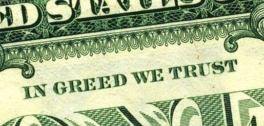 Trickle-Down Economics, Greed and the Republican Party are Destroying American Values  Read more at: http://www.forwardprogressives.com/trickle-economics-greed-republican-party-whats-destroying-american-values/ greed-money