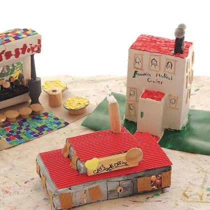 Box Buildings. Submit your recreation into the Sioux Empire Fairu0027s Arts Center Contest. # · Crafts For BoysCraft ...  sc 1 st  Pinterest & 24 best SHOE BOX CRAFTS images on Pinterest | Shoebox crafts Box ... Aboutintivar.Com