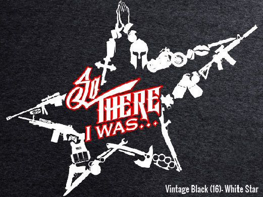 So There I Was... Special Ops Star Bottle Breacher T-Shirt!