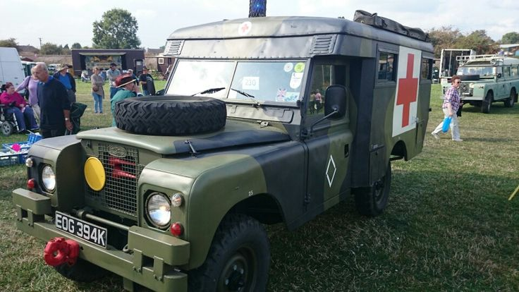 Land Rover Series 2a 109 Military Ambulance By Marshalls