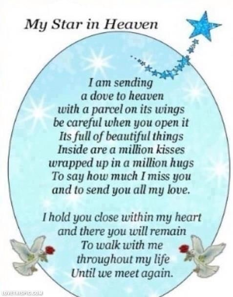 my star in heaven quotes quote heaven in memory Love you and Miss you always Papa. Happy Birthday Oct-8-1926. Until We Meet Again.