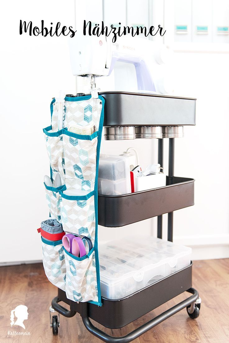 Spring cleaning – Mobile sewing room with great storage tips