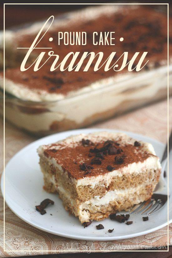 Low Carb Tiramisu - made with low carb, grain-free almond flour pound cake. A dessert to impress!