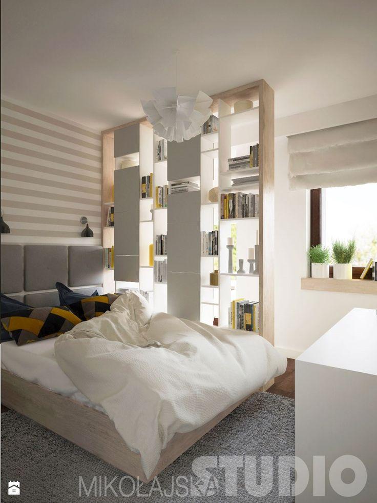 Indywidualny projekt sypialni - zdjęcie od MIKOŁAJSKAstudio