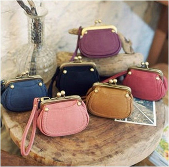Candy Leather Purse
