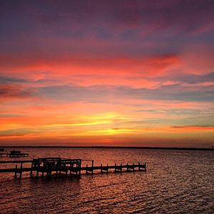 Bogue Sound, Emerald Isle, North Carolina | Coastalliving.com