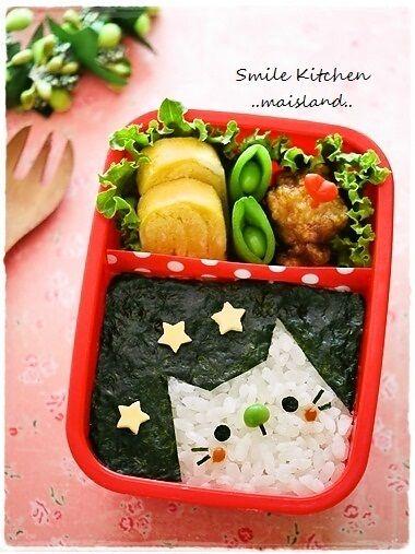 海苔弁ねこちゃん   Mai's スマイル*キッチン