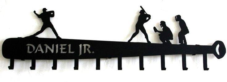 Baseball Hat Holder: Personalized Baseball Hat Rack: BaseBall Hat Display #baseball-hat-display #baseball-hat-rack #baseball-trophy-shelfjujitsu #karate #martial-arts-belt-display #taekwondo