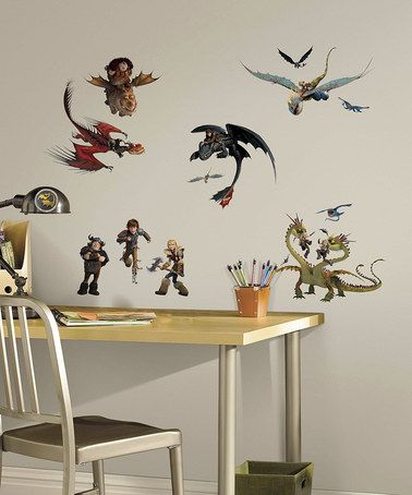 Look what I found on #zulily! How to Train Your Dragon 2 Peel  Stick Wall Decals #zulilyfinds