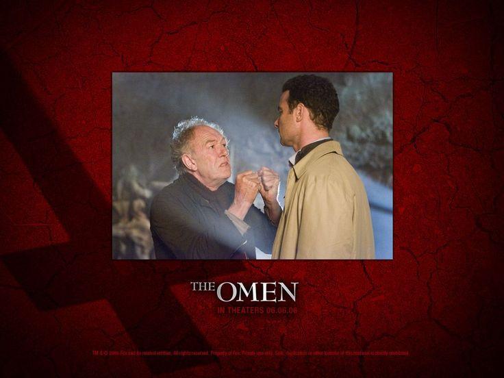 Michael Gambon as Carl Bugenhagen and Liev Schreiber as Robert Thorn in 20th Century Fox movie, The Omen - 2006