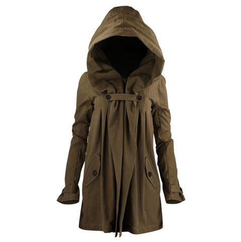 Brown Rain Coat - sexy raincoat!