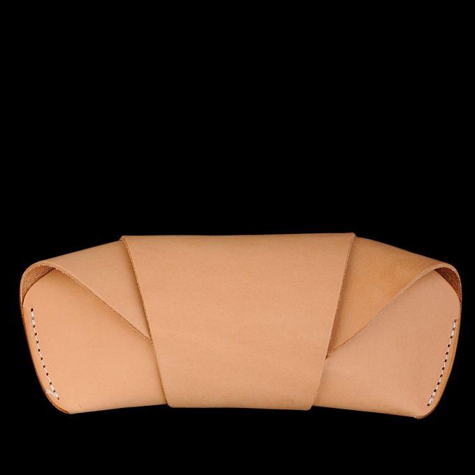 tanner goods Sunglass Case Natural