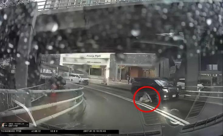 Тест на внимательность: ДТП с пешеходом-призраком (видео)