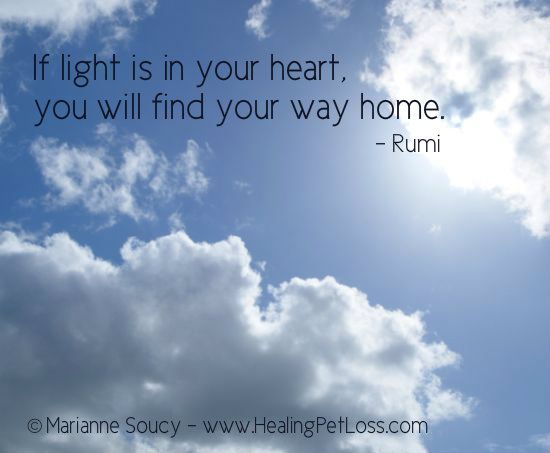 """If Light Is In Your Heart, You Will Find Your Way Home"