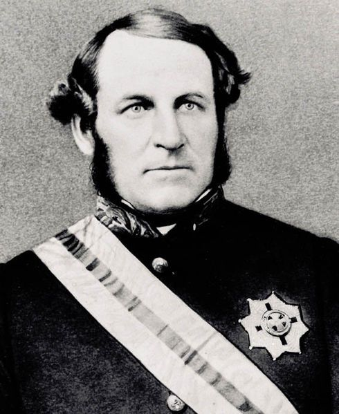 Sir George Bowen. First Governor of Queensland. 1870s.