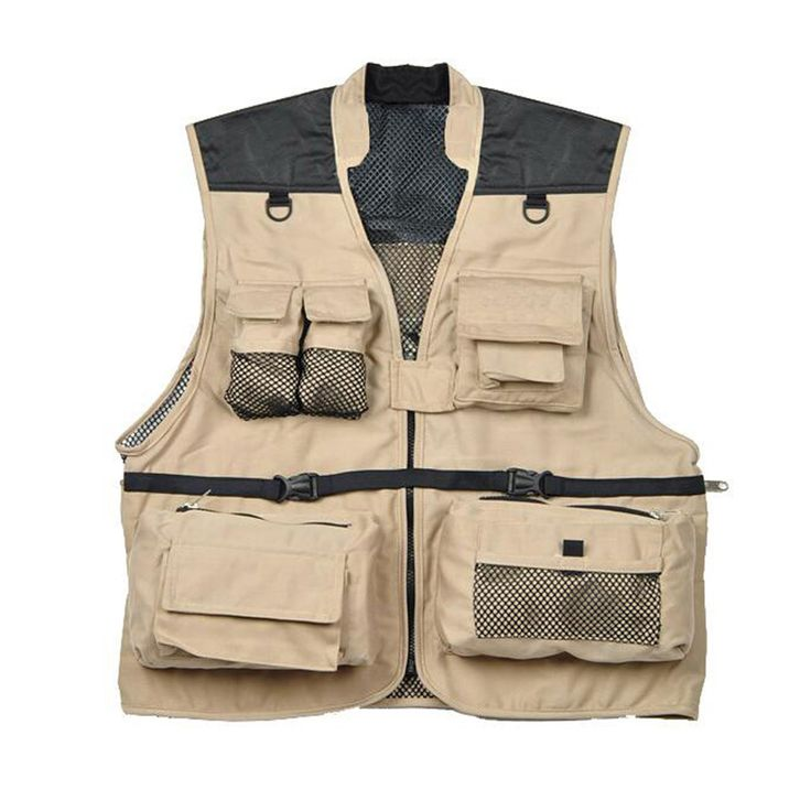 Multifuctional Quick-Dry Mesh Fishing Vest Multi-Pocket Photography Angler Waistcoat Customizable Team Jacket chaleco de pesca