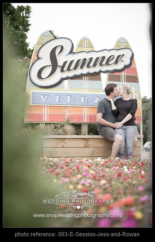 SNAP! Photography | Jess & Rowan's engagement shoot - Sumner Beach
