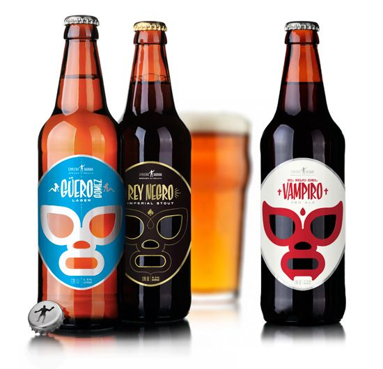Craft Beer Pays Homage to Mexican Wrestling - foodista.com
