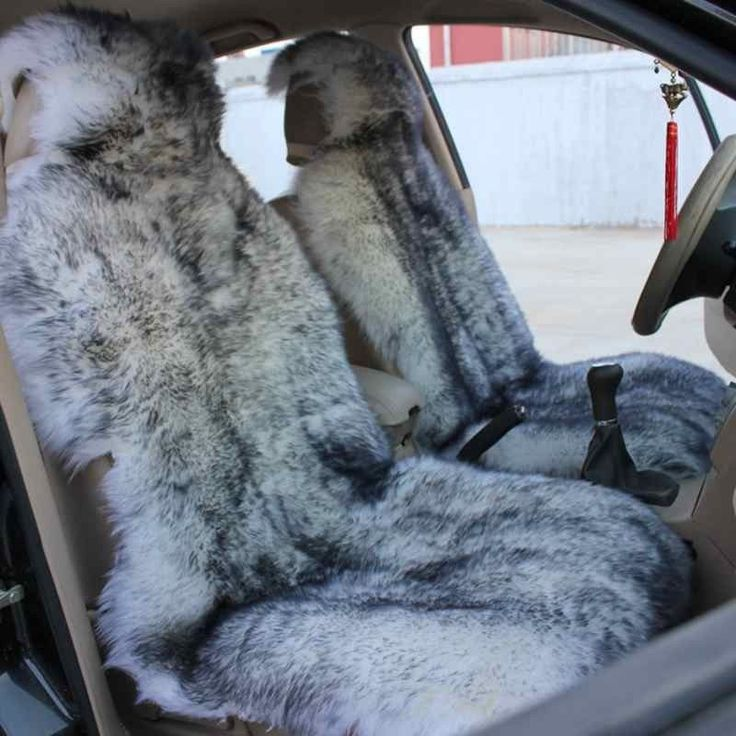 grey sheepskin seat cover & grey steering wheel cover for my car (not necessarily this one)