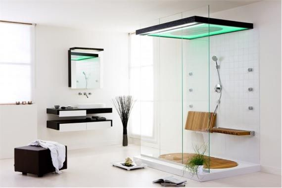 comfortable and modern bathroom furniture design