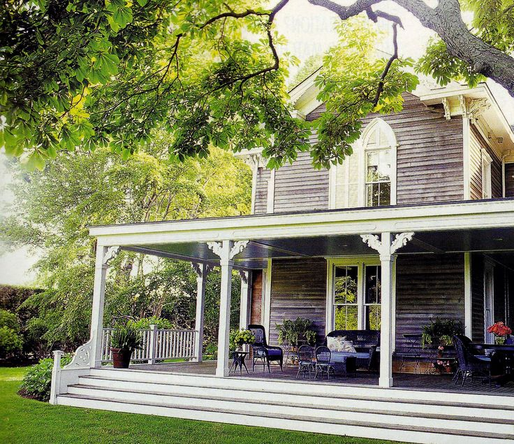 Love this porch. Could sit all day with lemonade and some good friends.