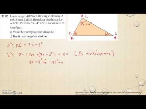 Matematik 5000 Ma 2a   Kapitel 3   Geometri   Vinklar och vinkelsumma   ...