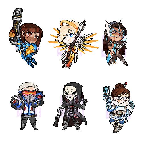 Oi, ★ Overwatch Charms are available for preorder HERE...