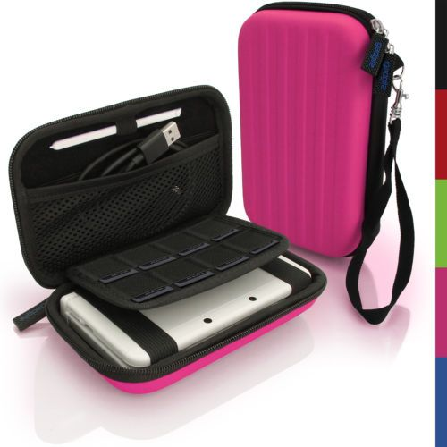 Pink-EVA-Hard-Carry-Case-Cover-for-New-Nintendo-3DS-XL-2015-Sleeve-Bag-Pouch