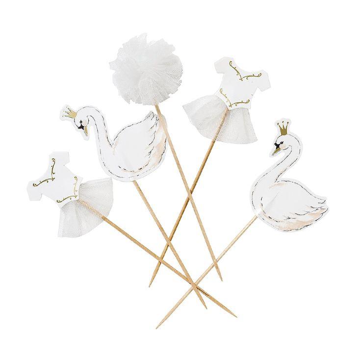 Swan Party Food Picks