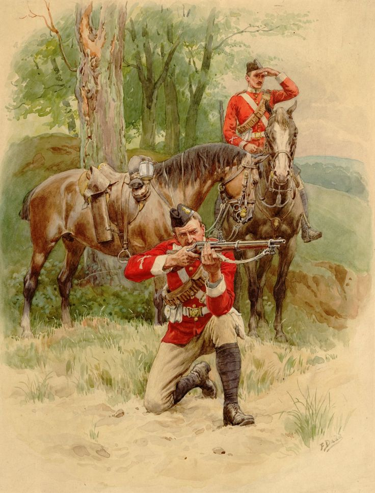 British Dragoons In Africa, Anglo Zulu War