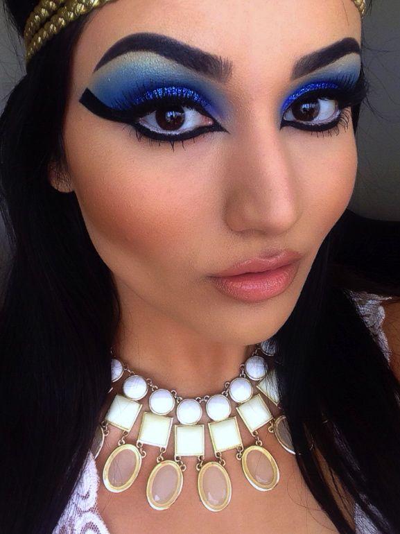 Elizabeth Taylor Cleopatra Makeup Costumes Pinterest