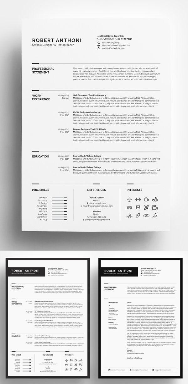30 Meilleurs Modeles De Cv Word Resume Template Word Resume Design Template Resume Template Professional