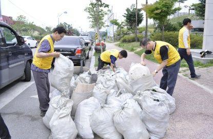 제천 하나님의교회(안상홍증인회) 환경정화활동