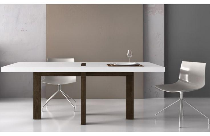ROMVO Table de Repas Rectangulaire 180 à 220 cm Design Tagged - Mobilier Sodezign | Sodezign.com
