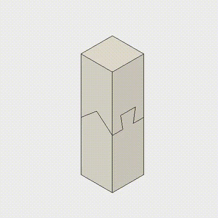 Tetris-like gifs show timber joints slotting together, and are the work of a young Japanese man so obsessed by joinery techniques