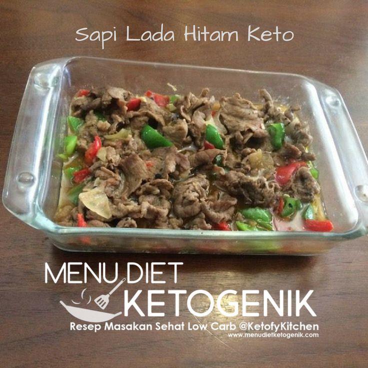 Resep Sapi Lada Hitam Keto – Ketofy Black Pepper Beef